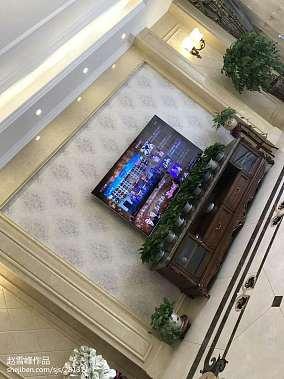 热门简欧别墅客厅装饰图片