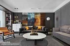 精美90平方二居客厅混搭装修图片欣赏