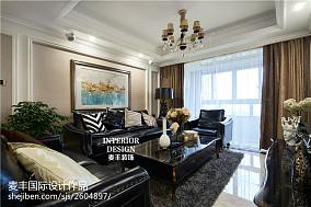 时尚新古典风格客厅装修