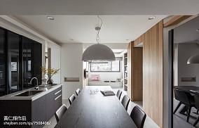 2018精选面积104平现代三居厨房装修欣赏图片大全