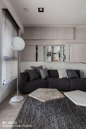 精美94平米三居客厅简约装修设计效果图片欣赏