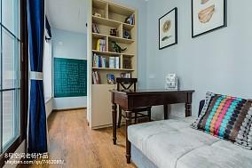 2018美式三居书房装修设计效果图片