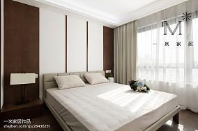 热门94平米三居卧室现代装修设计效果图片欣赏
