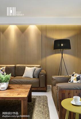 热门118平方四居客厅现代设计效果图