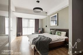 热门面积99平现代三居卧室装修欣赏图