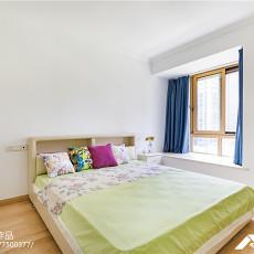 面积92平地中海三居卧室装修图片大全