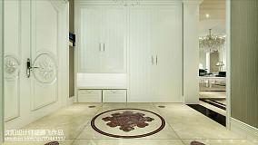 低调现代风格客厅柜效果图