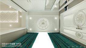 温馨现代风格客厅柜效果图