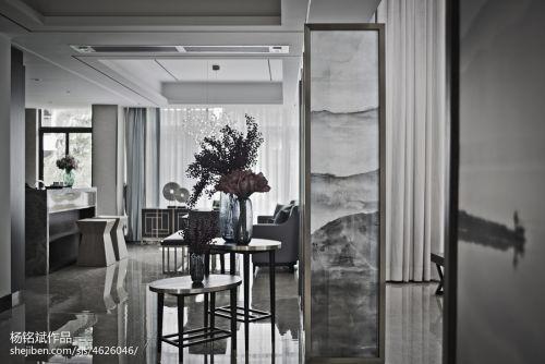 精美面积138平别墅客厅混搭装饰图501-1000m²潮流混搭家装装修案例效果图