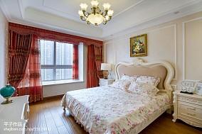 120平米四居卧室混搭装修欣赏图片