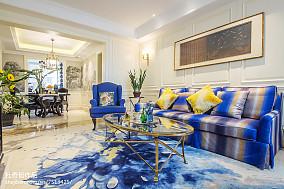 精选面积90平混搭三居客厅实景图片欣赏客厅2图潮流混搭设计图片赏析