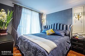 精美106平米三居卧室混搭装修效果图片卧室潮流混搭设计图片赏析