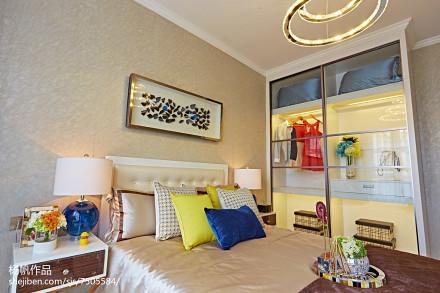 浪漫21平简约小户型卧室装饰美图