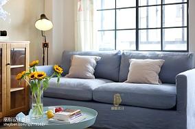 精美123平北欧三居客厅装修装饰图客厅北欧极简设计图片赏析