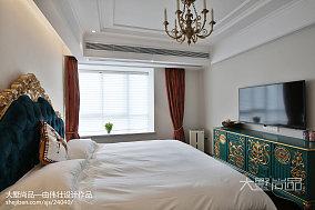 热门94平米三居卧室欧式装饰图片三居欧式豪华家装装修案例效果图