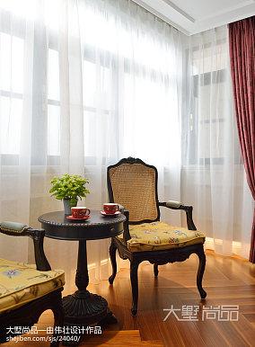 精选99平米三居客厅欧式装修欣赏图三居欧式豪华家装装修案例效果图