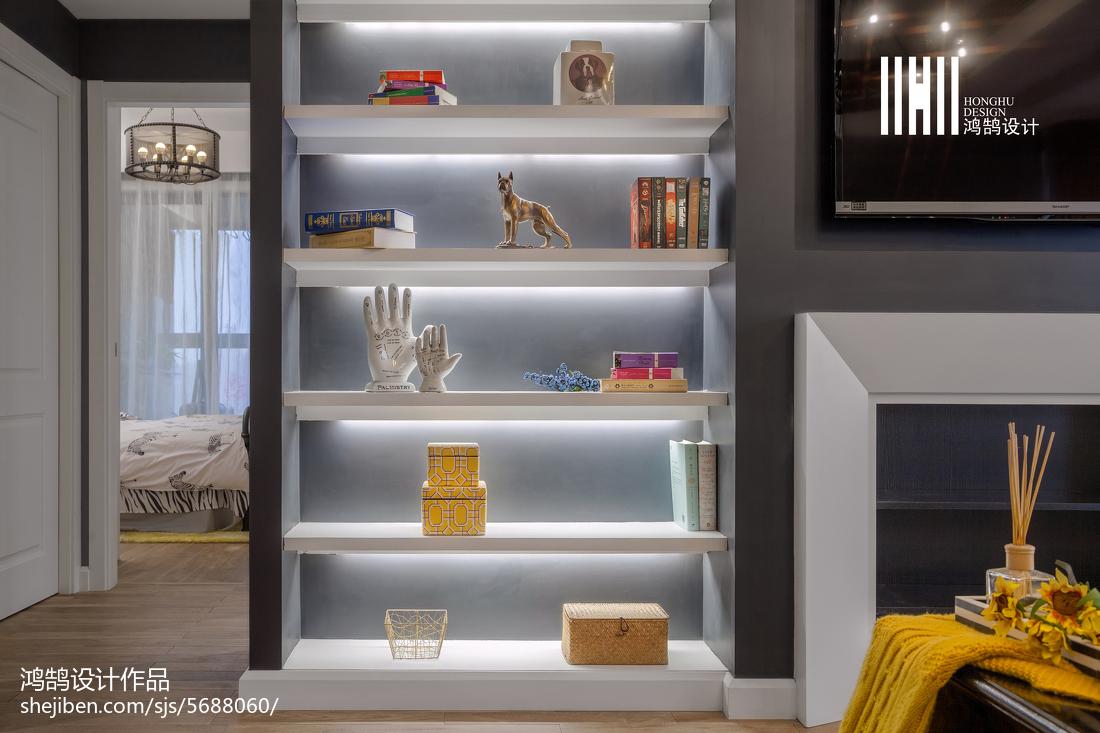 2018大小90平美式三居客厅装修效果图片欣赏客厅美式经典客厅设计图片赏析