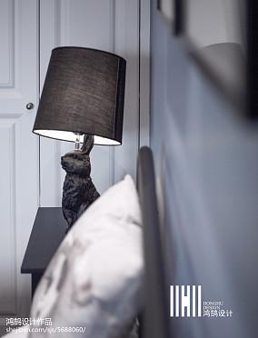 2018美式三居卧室装修设计效果图
