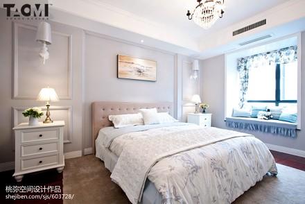 精美面积140平复式卧室混搭装修图片大全卧室