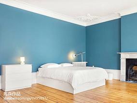 精选105平米三居卧室简欧装修设计效果图片