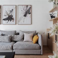 精美三居客厅北欧装修图片大全