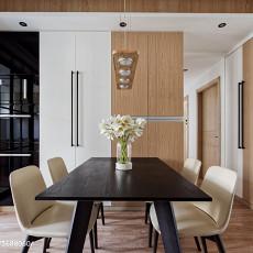 2018107平米三居餐厅北欧装修实景图片欣赏