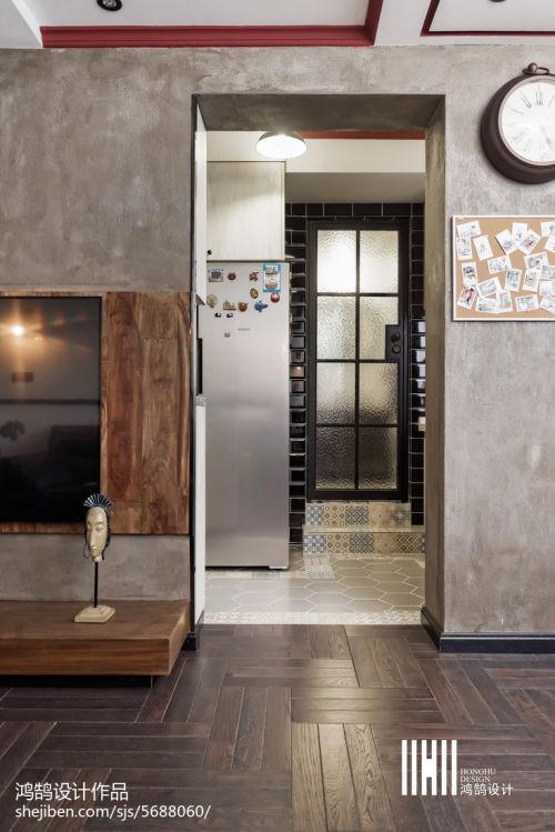 2018大小89平混搭二居客厅效果图片客厅1图