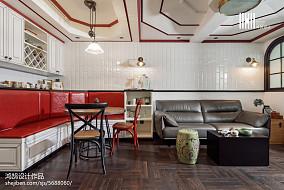 精选大小80平混搭二居餐厅装修图片大全