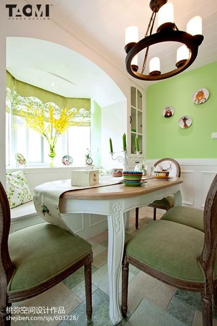 热门118平米四居餐厅美式装修欣赏图厨房