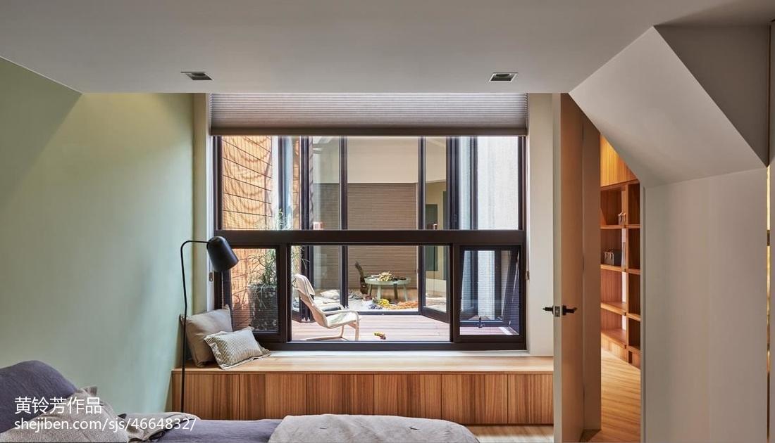 2018精选面积101平混搭三居卧室装修设计效果图卧室