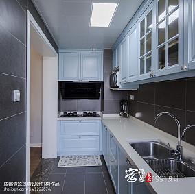 精致84平简约三居厨房实拍图