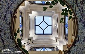轻奢324平欧式样板间效果图欣赏样板间欧式豪华家装装修案例效果图