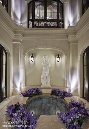 质朴275平欧式样板间休闲区装修案例样板间欧式豪华家装装修案例效果图