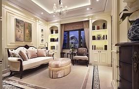 精选客厅欧式设计效果图样板间欧式豪华家装装修案例效果图