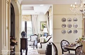 热门欧式餐厅装修设计效果图片样板间欧式豪华家装装修案例效果图