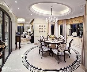 热门餐厅欧式效果图片样板间欧式豪华家装装修案例效果图