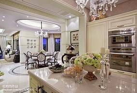 精选欧式餐厅效果图片大全样板间欧式豪华家装装修案例效果图