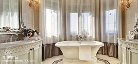 精美欧式卫生间效果图片大全样板间欧式豪华家装装修案例效果图