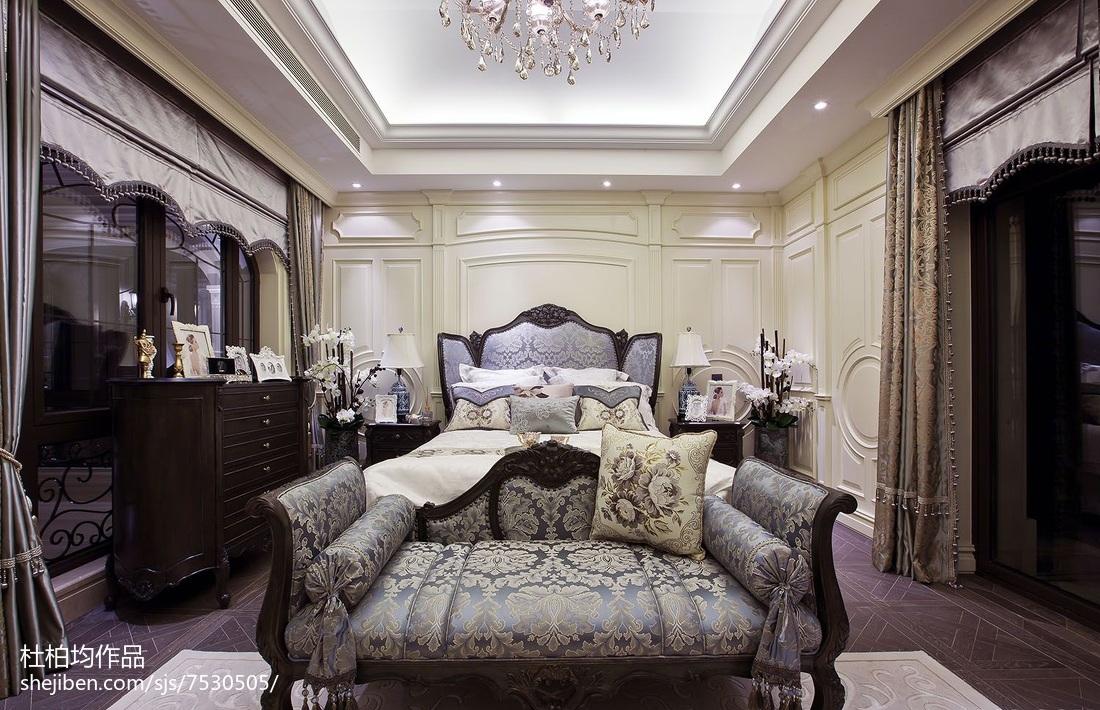 2018欧式卧室装修效果图卧室
