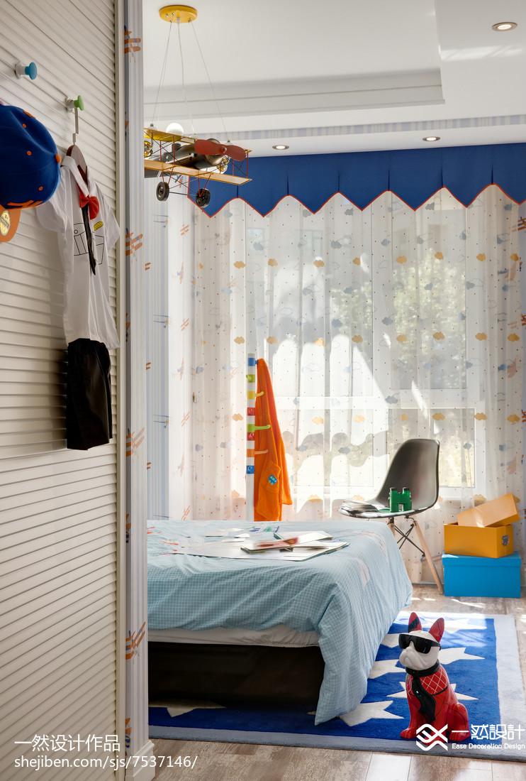 精选84平米二居卧室混搭装修欣赏图片大全卧室