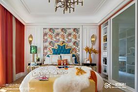 热门别墅卧室简欧装修设计效果图片
