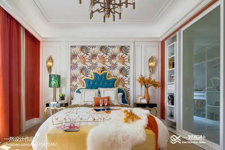 热门别墅卧室简欧装修设计效果图片卧室