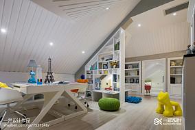 简欧风格白色阁楼设计