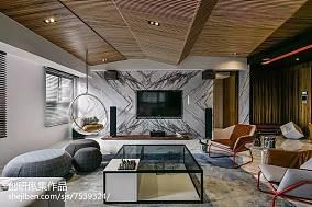 家装中式风格背景墙装修客厅中式现代客厅设计图片赏析