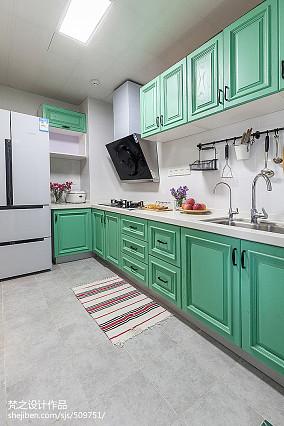 精选四居厨房混搭装修效果图
