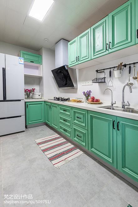 精选四居厨房混搭装修效果图餐厅