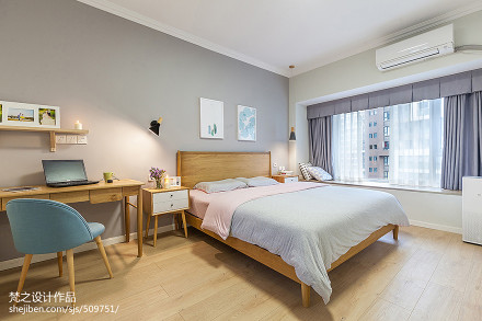精美面积124平混搭四居卧室装修图片欣赏卧室