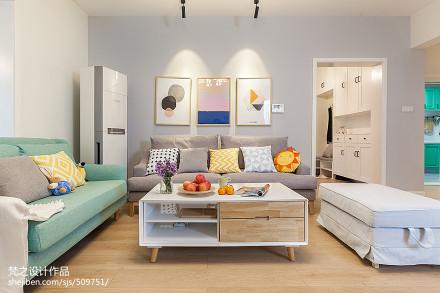 精选面积137平混搭四居客厅欣赏图片客厅