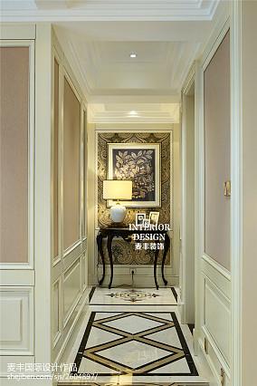 精选面积124平欧式四居玄关装修设计效果图片欣赏