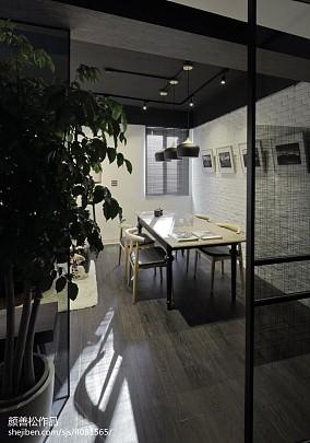 热门84平米二居餐厅装修图